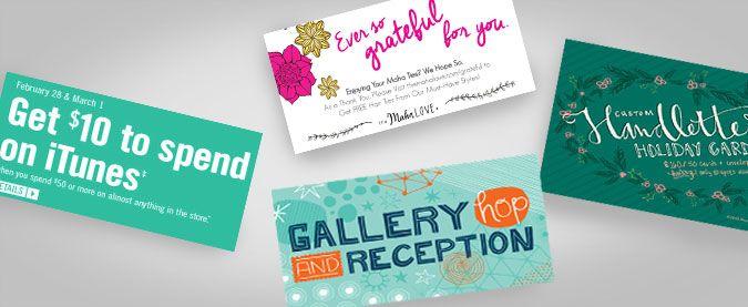 DL Marketing Card Printing