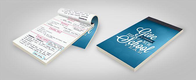 A5 Notepad Printing